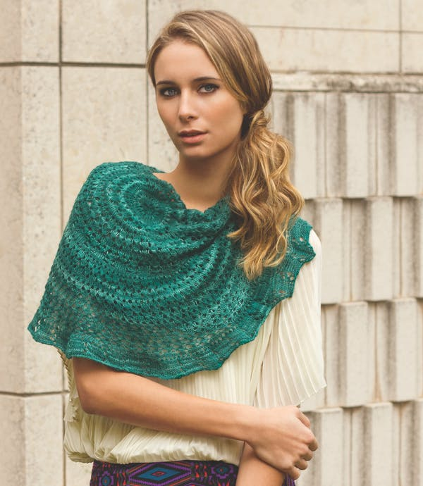 Abalorio Shawl in Lace