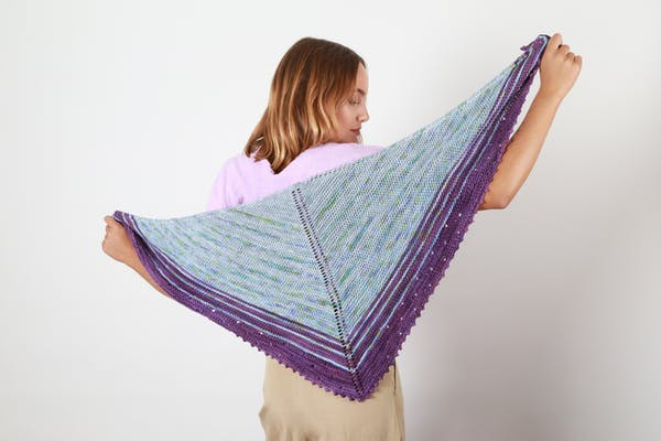 Margarita shawl - verano