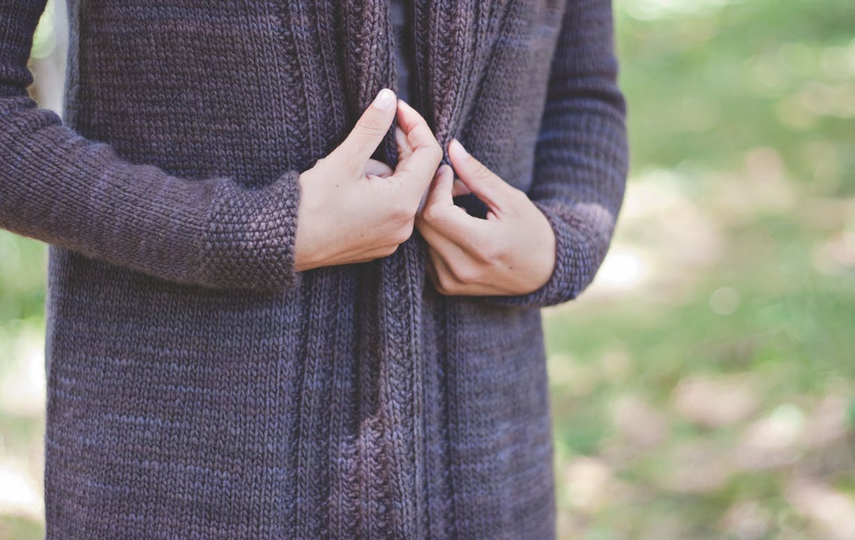 Terreno Cardigan - Worsted