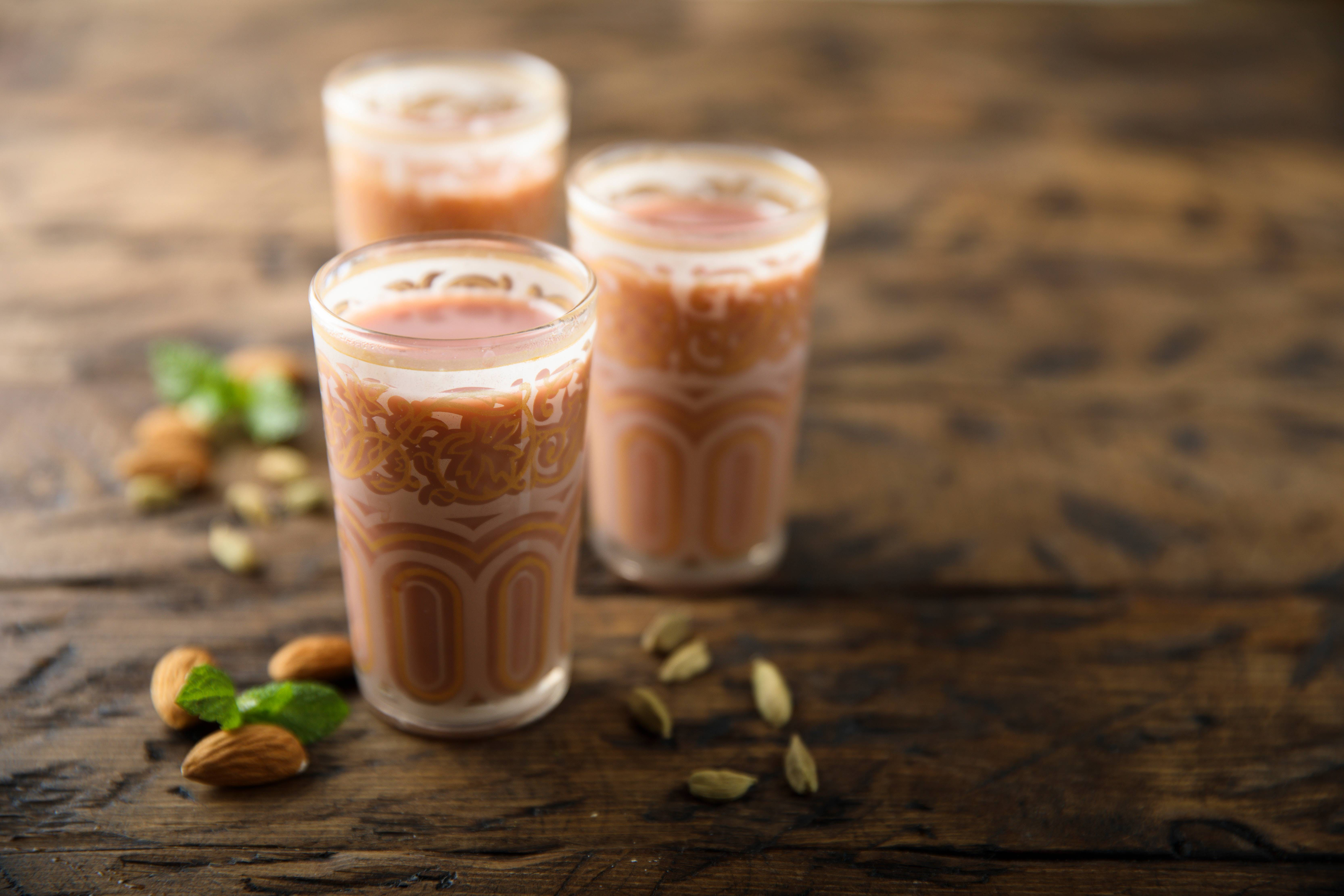 KASHMIRI CHAI OR PINK TEA IS FAMOUS DELICACY OF KASHMIR