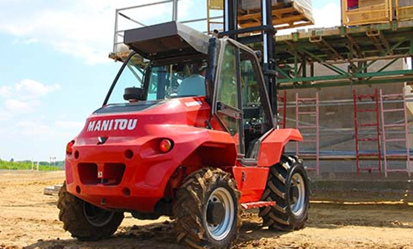 Manitou Telehandlers Forklifts
