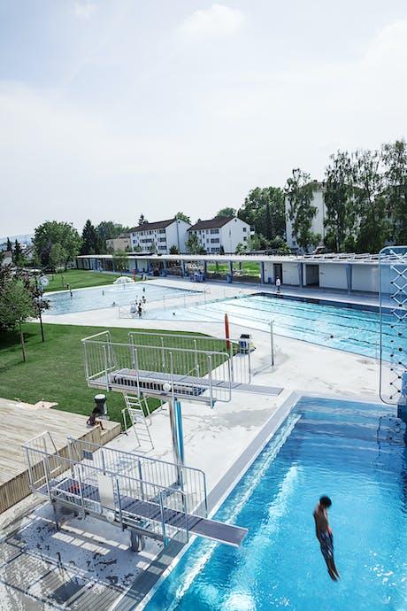 Sanierung Freibad Oberi, Winterthur