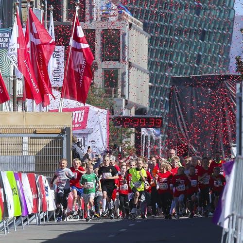 3 km start