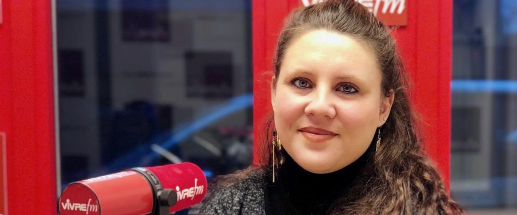 Marion FAVRE LAURIN - Invitée sur Vivre FM pour présenter Marguerite