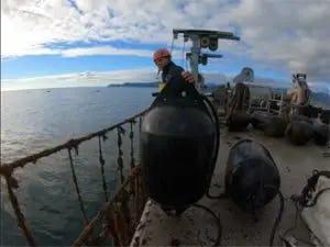 buoys for elastic mooring aquaculture