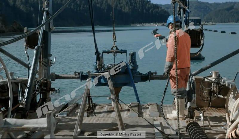 Screw in anchor installation technology marine flex