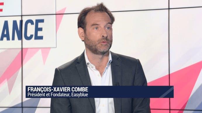 interview françois-xavier combe fondateur easyblue bfm business