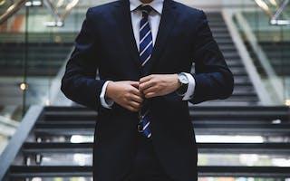 well dressed investor