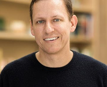 Photo of Peter Thiel