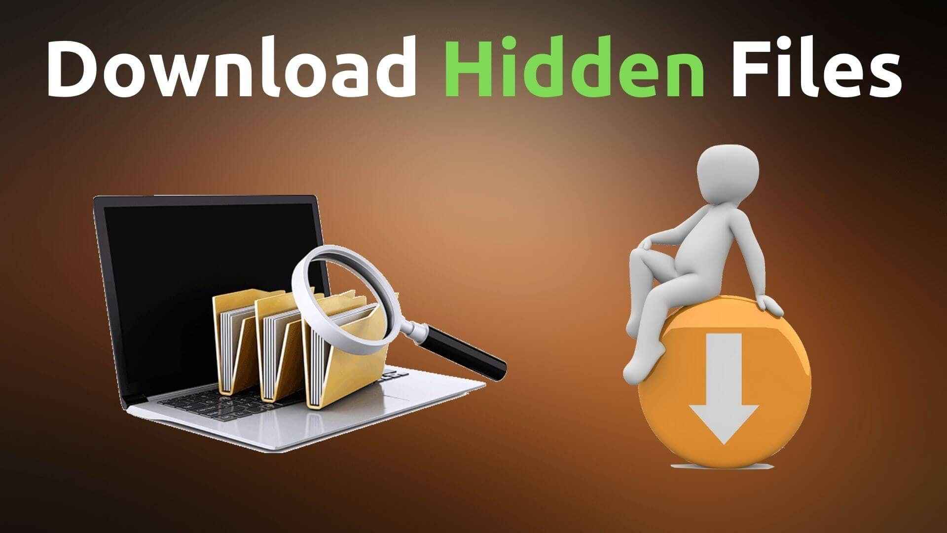 download hidden files