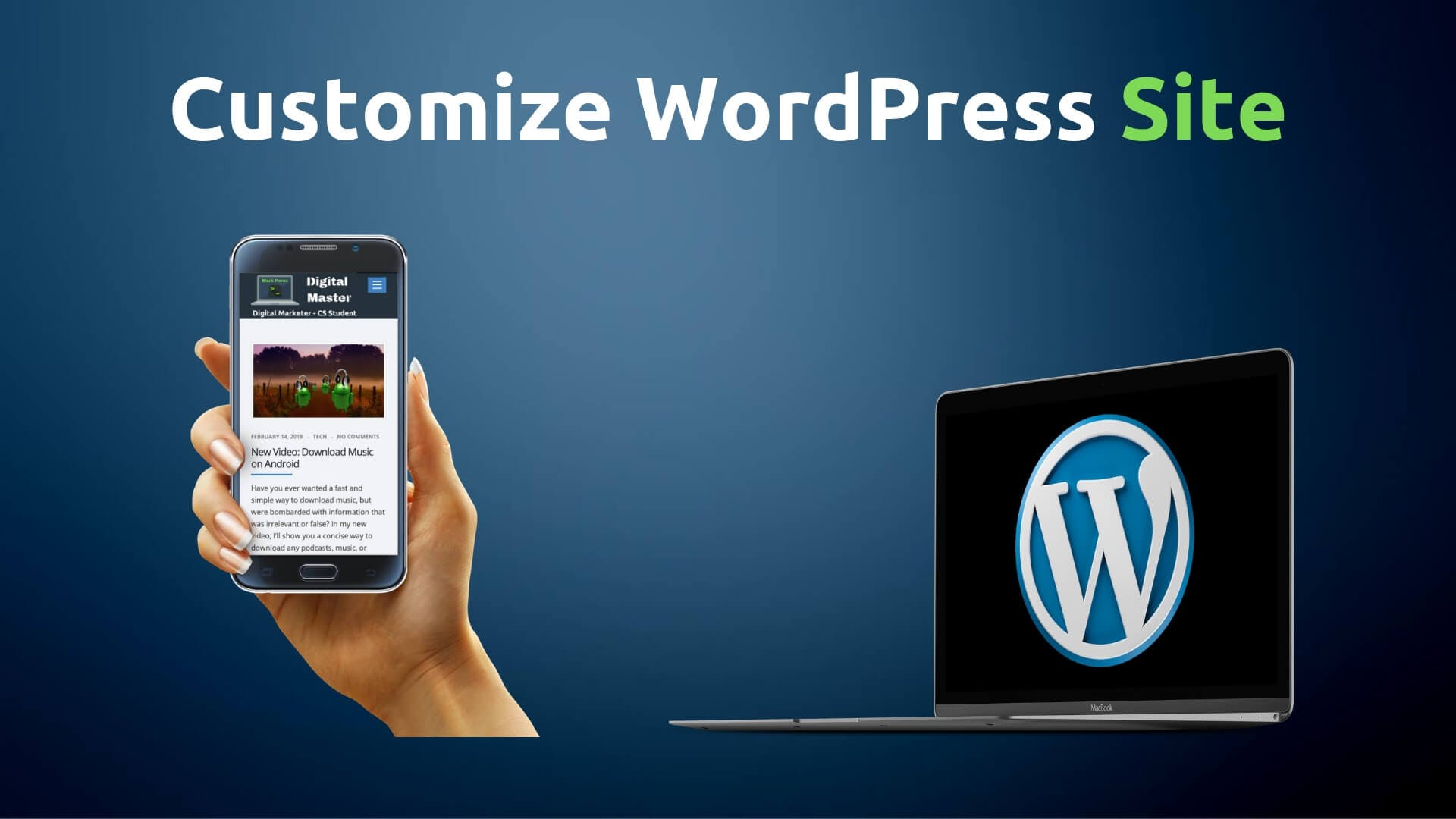 how to customize your wordpress website