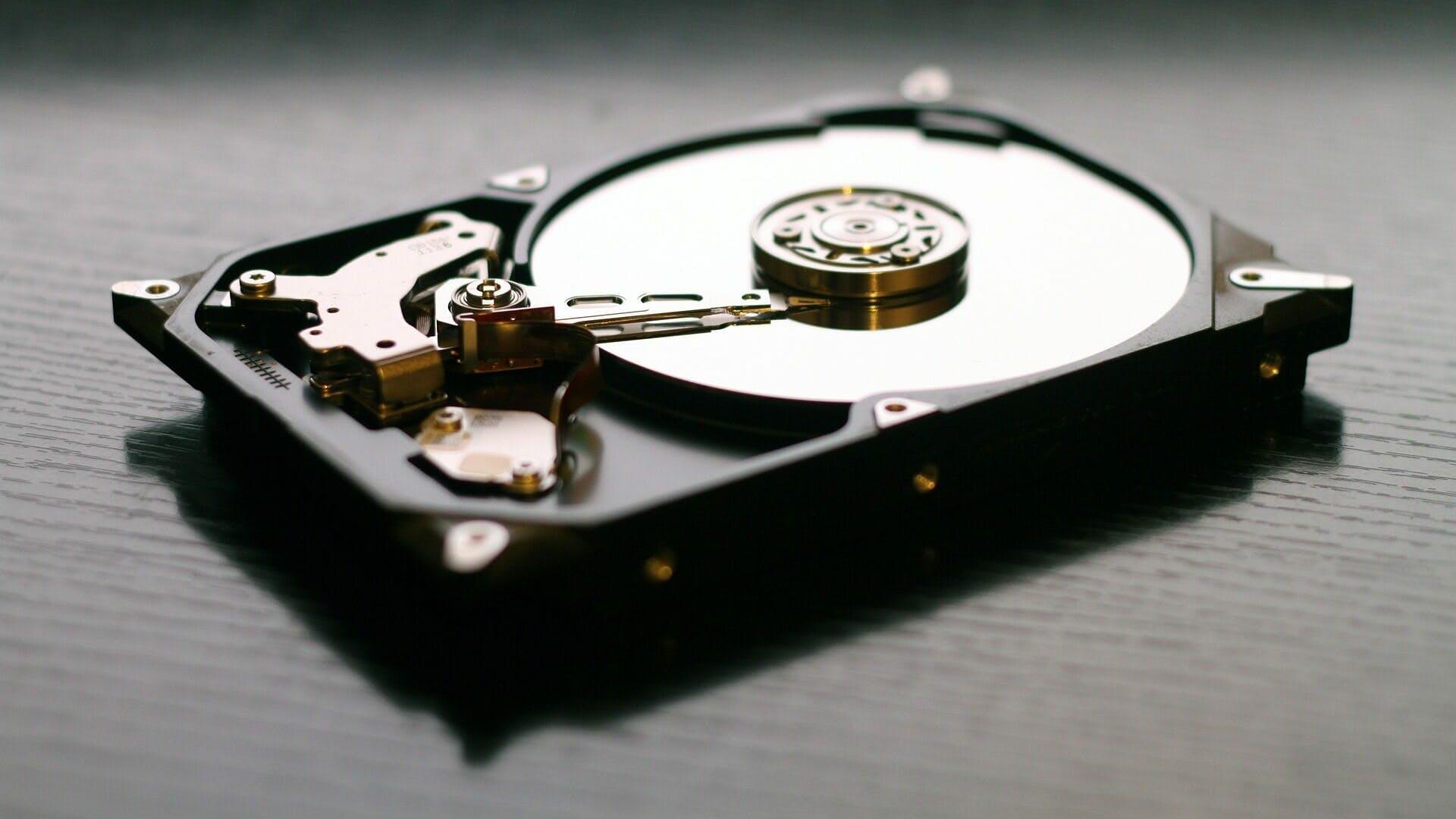hard drive representing f2fs