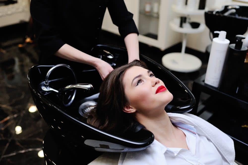 girl in salon