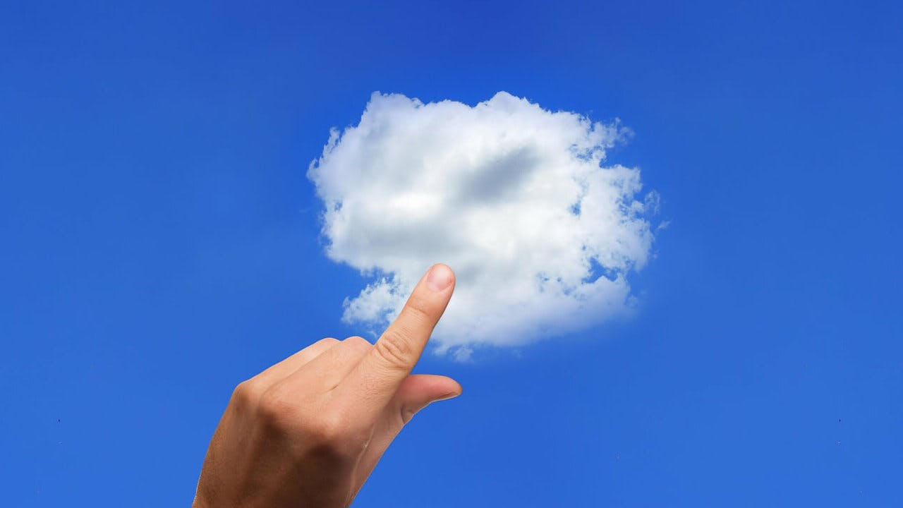 entity managing the cloud