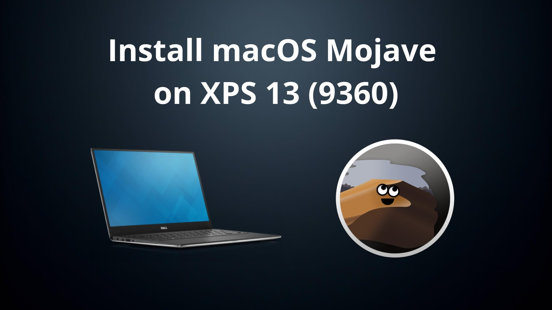 the xps 13 (9360) running macos mojave