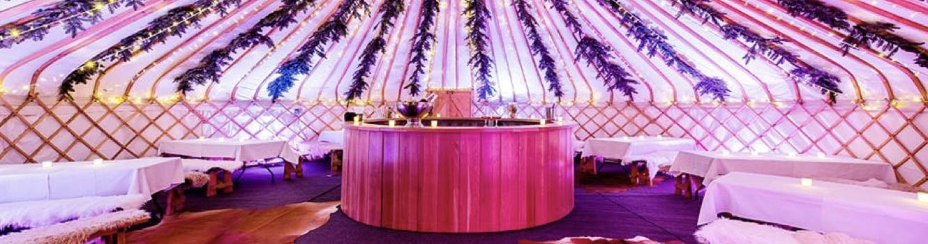 Find yurt's in your area