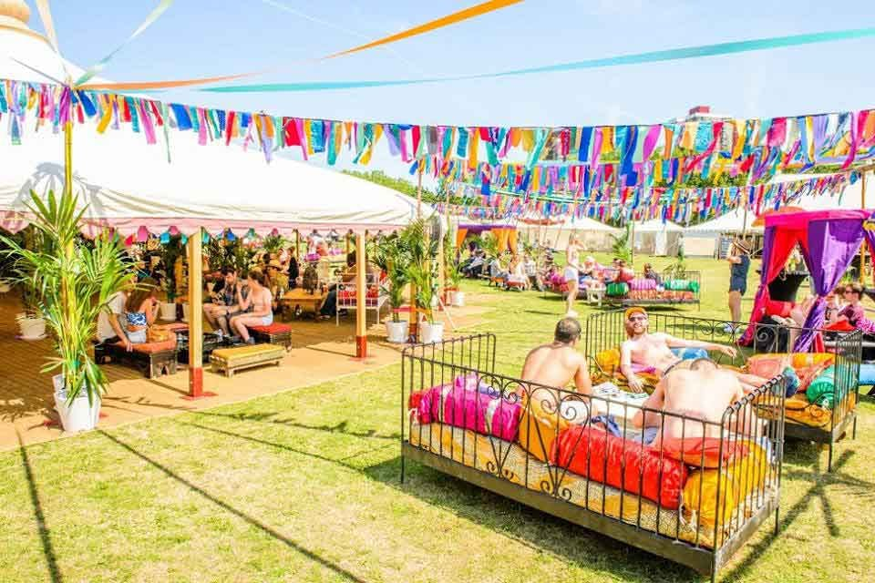 Marquee hire for your festival