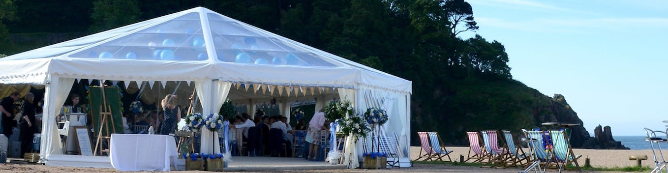 Find marquees in the South West