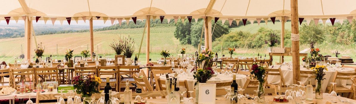 Find marquees in the North East