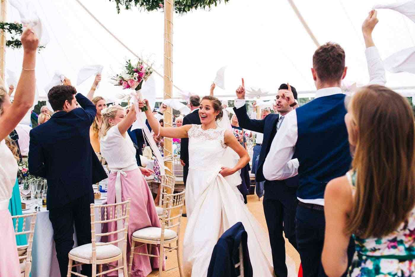"""Stress-Free"" marquee hire weddings are possible!"