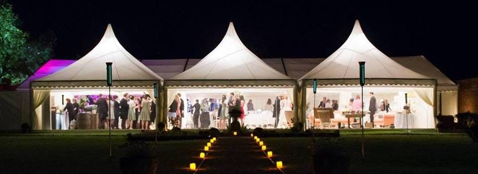 Marquee hire for corporate events
