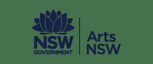 NSW Arts NSW brand
