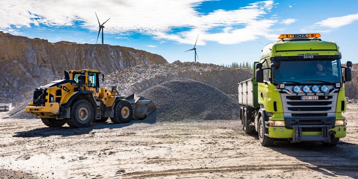 BDX Företagen är ett av ett tiotal aktörer som skrivit under ett gemensamt klimatprotokoll om att nå de nationella klimatmålen tio år före utsatt tid, redan 2035. Foto: BDX