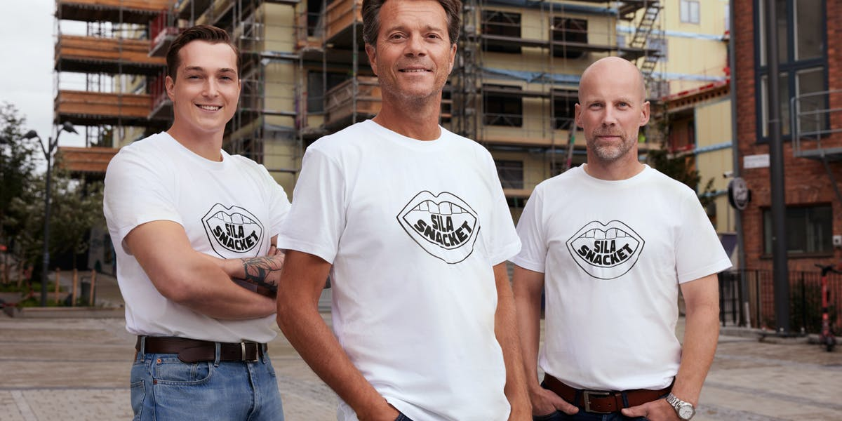 Sila Snacket lanseras av TL Bygg i Nacka för att bort exkluderande och diskriminerande jargong i byggbranschen. Foto: TL Bygg