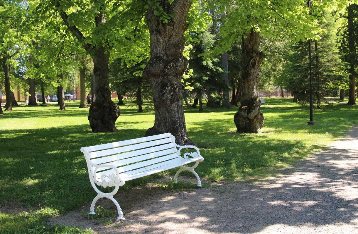 Yhtiönpuisto Forssassa