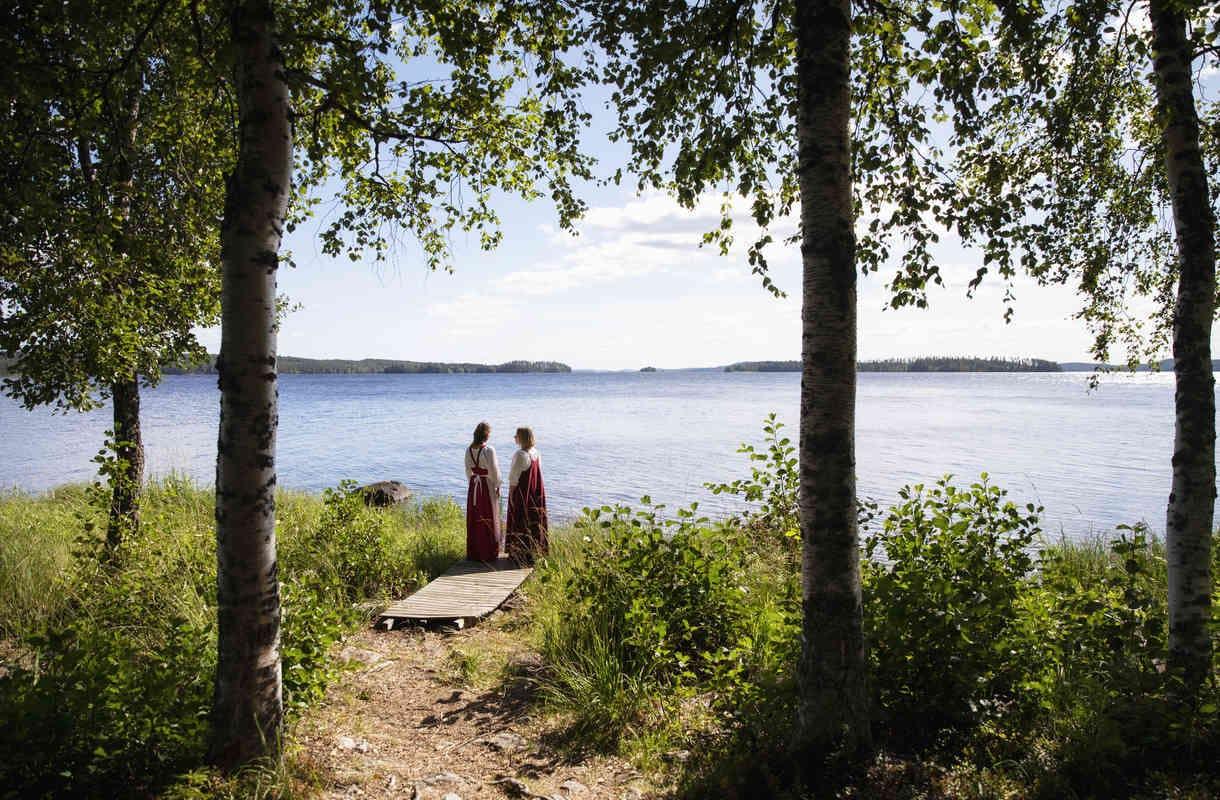 Säväyttävimmät luontokohteet Nurmeksessa – Pielisen aalloilta tummiin metsiin