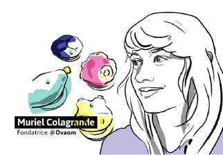 Muriel Colagrande, designer et fondatrice de Ovaom