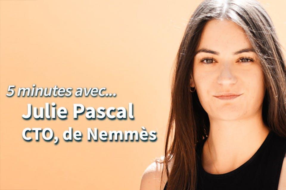 photo de Julie Pascal CTO de Nemmès
