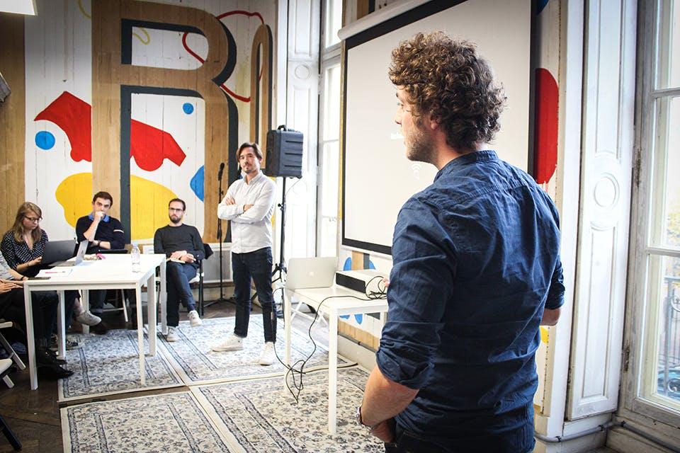 La startup Chop Chop Kitchen pitche son projet