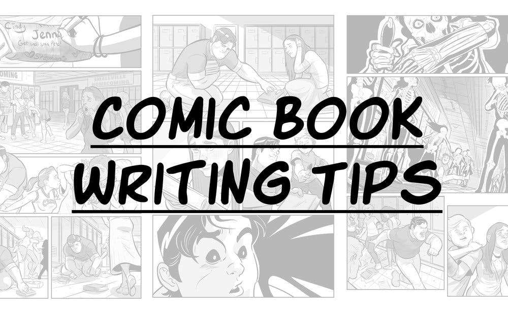 comic book writing tips