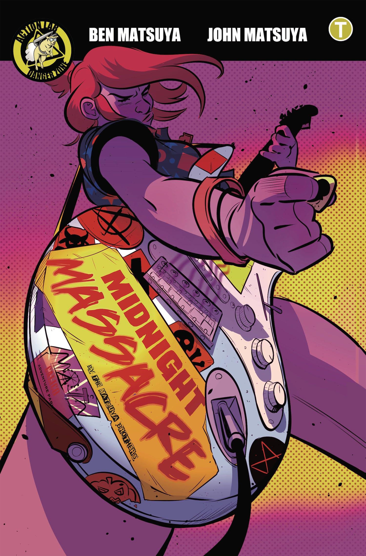 Midnight Massacre Comic Halloween