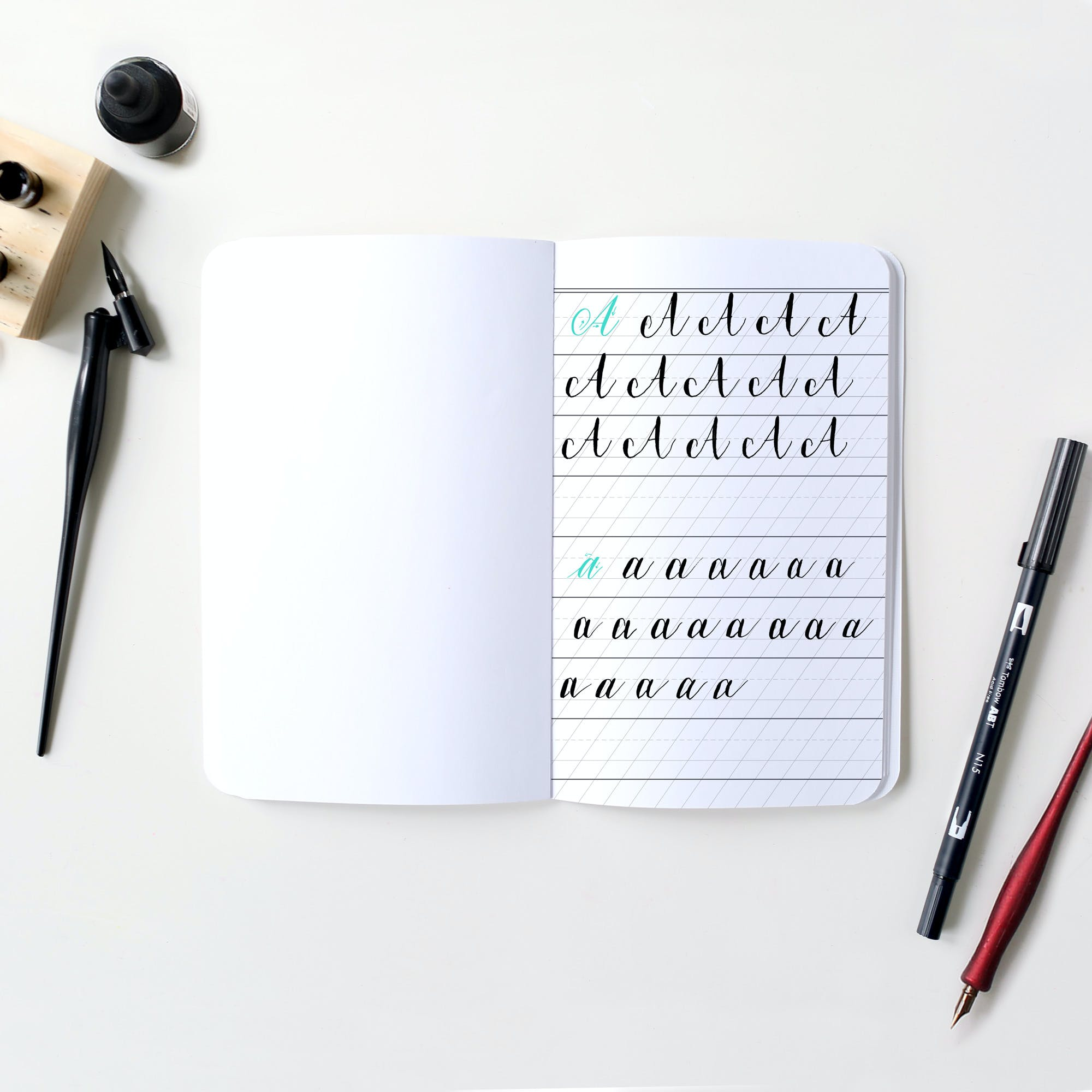Custom Calligraphy Notebooks May Designs May Designs
