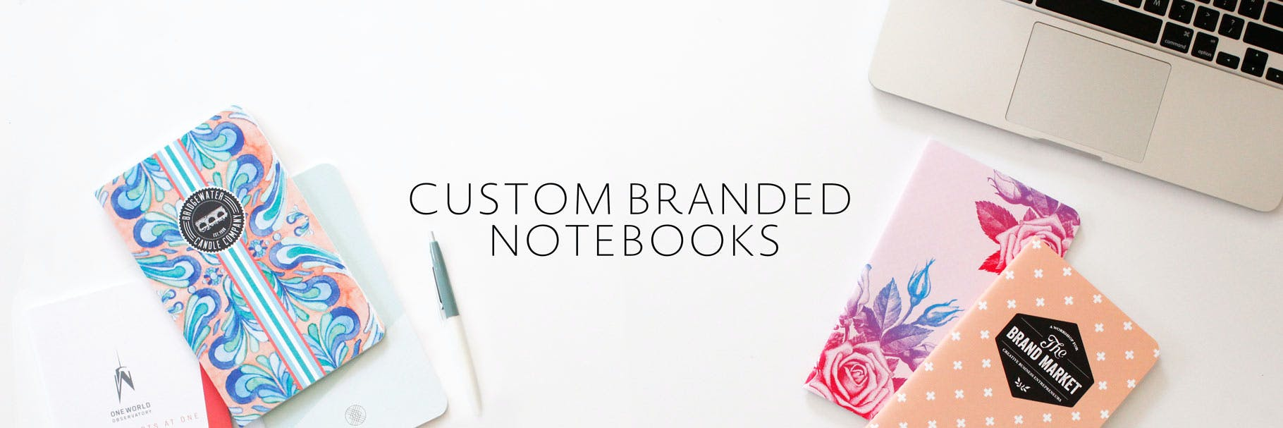 Custom branded notebooks for your company.