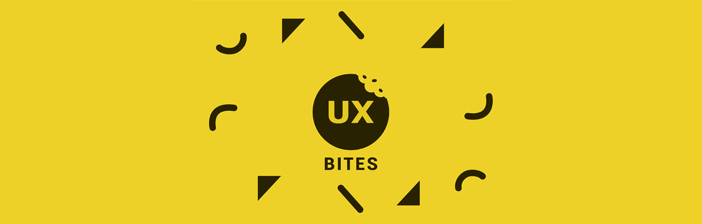 10 bites of UX wisdom every designer should know
