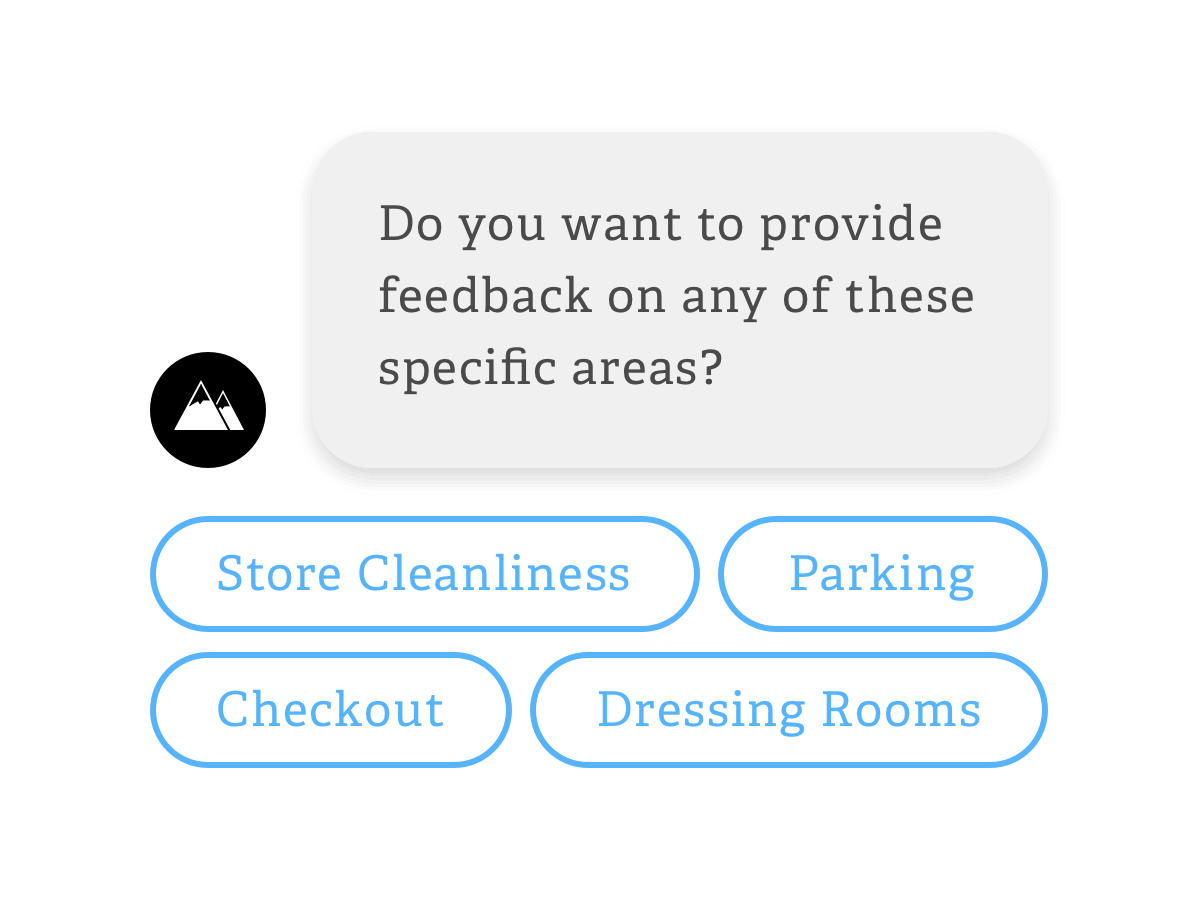 Offer Interactive CX Feedback