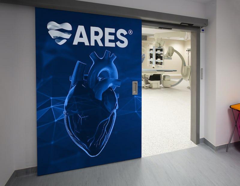 ARES   Sala angiografie