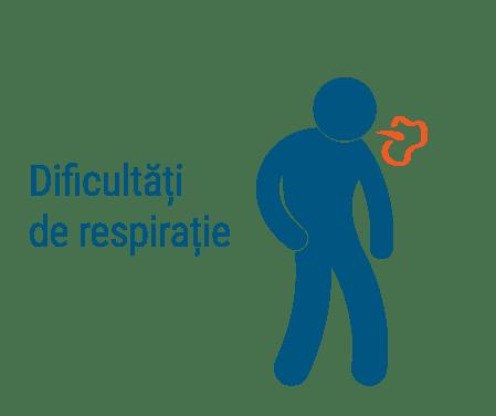 Difucultati Respiratie - ilustratie | Centrele ARES