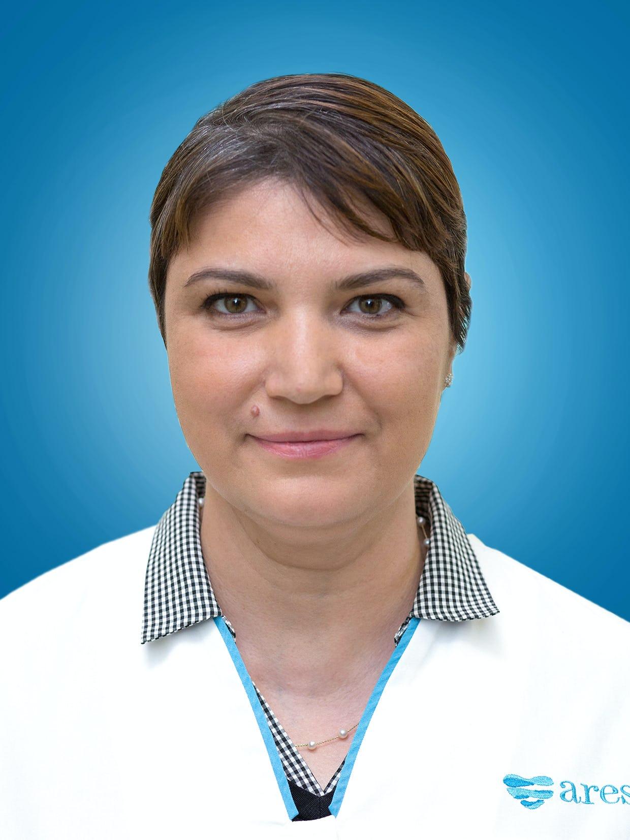 Conf. Univ. Dr. Eliza Cinteza, medic primar cardiologie pediatrica la Centrele Ares