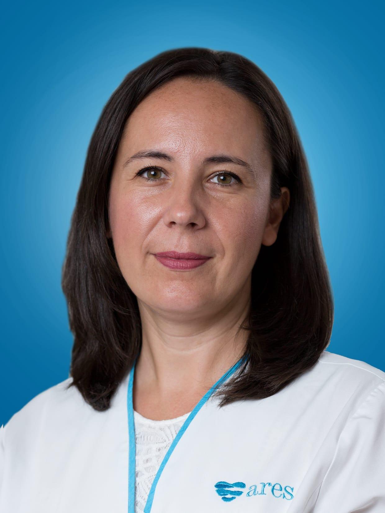 Doctor Alexandra Postu, medic primar cardiolog la Centrele Ares