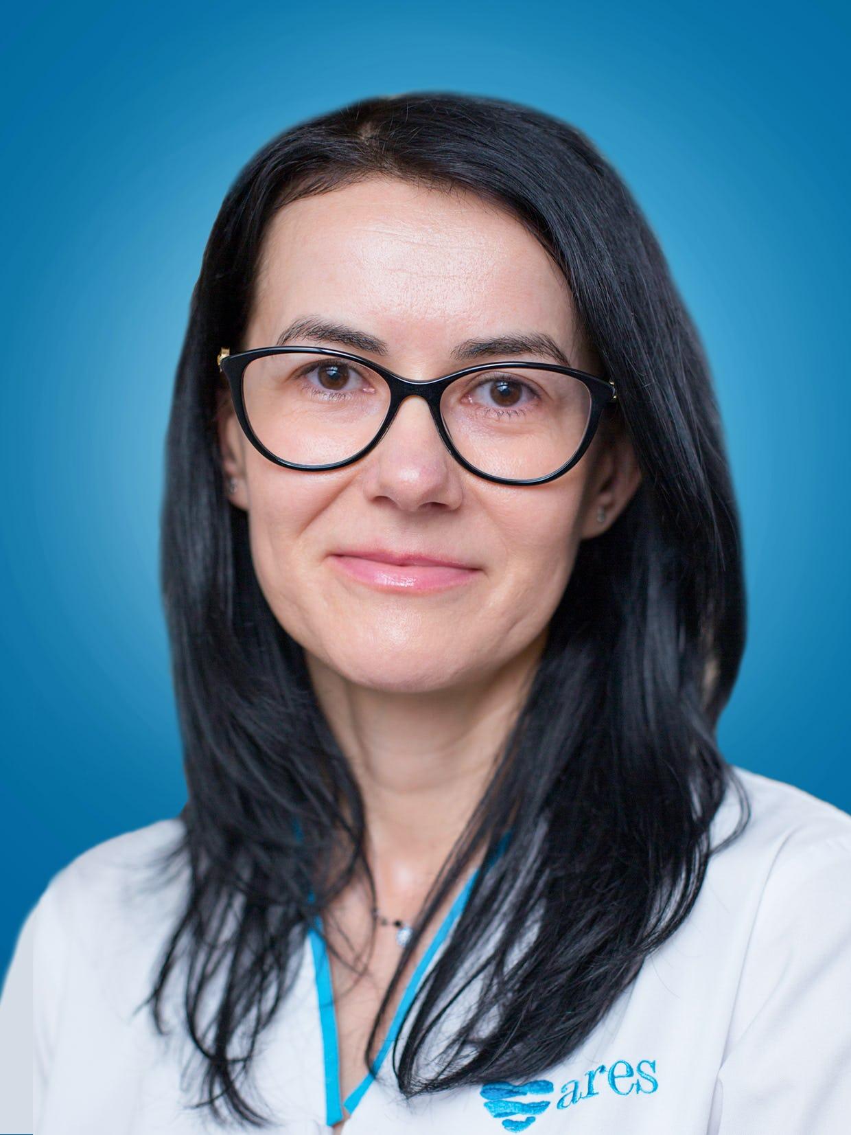 Doctor Mihaela Amariei, medic primar cardiolog la Centrele Ares