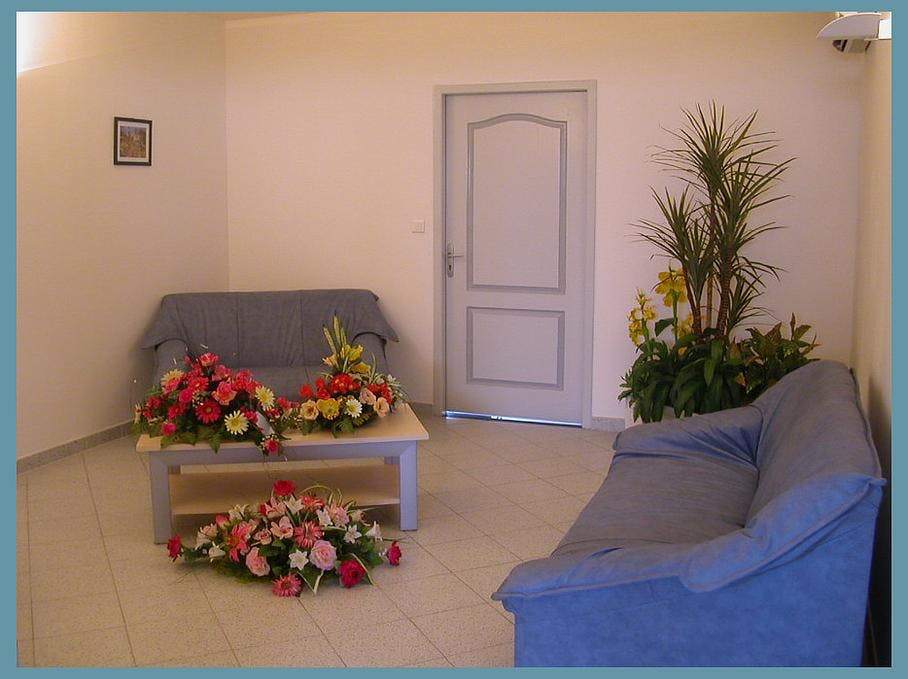 Intérieur de la Chambre funéraire Ponsy