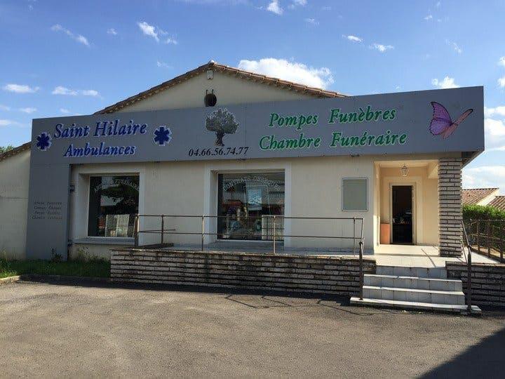 Photo de la Pompe Funèbre AMBULANCES Saint Hilaire