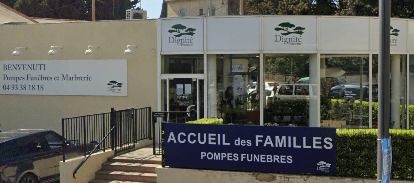 Photographie de la Pompes Funèbres et Marbrerie BENVENUTI - Dignité Funéraire