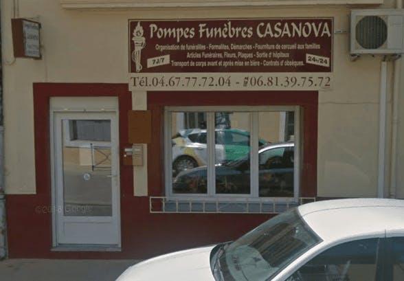 Photo de la Pompe Funèbre Pompes Funèbres Casanova