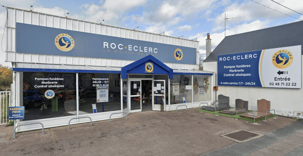 Photographie Pompes Funèbres Roc-Eclerc de Vierzon