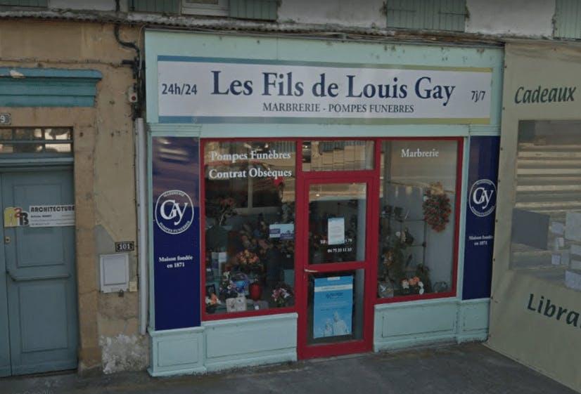 Photographie de Pompes Funèbres Les Fils de Louis Gay
